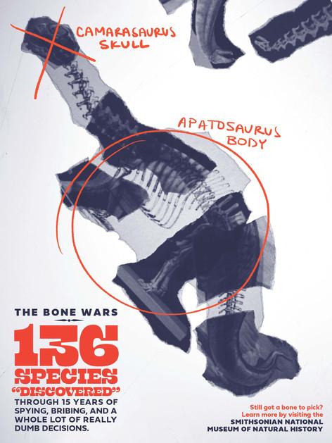 """The Bone Wars"" Poster Series"