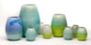 Crystal glaze vase Maranke Thunig