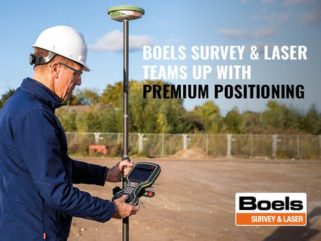 Boels Survey & Laser teams up with Premium Positioning.