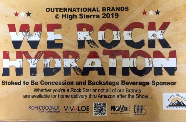 We Rock Hydration!