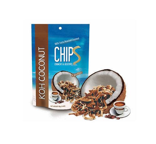 KOH Coconut Chips Espresso Flavor 40g (1.4oz) Pouch