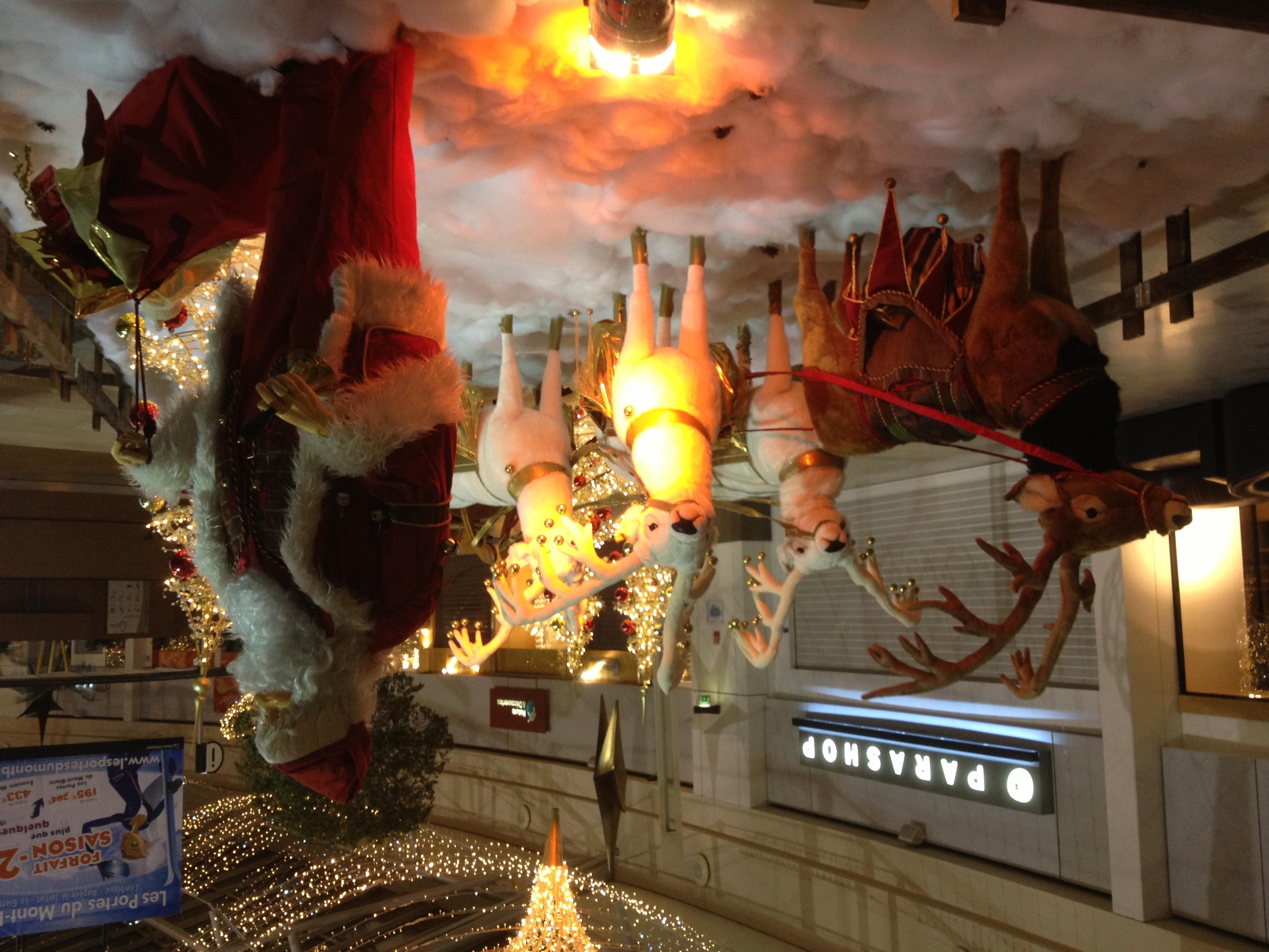 décoration de Noel, animation, centr