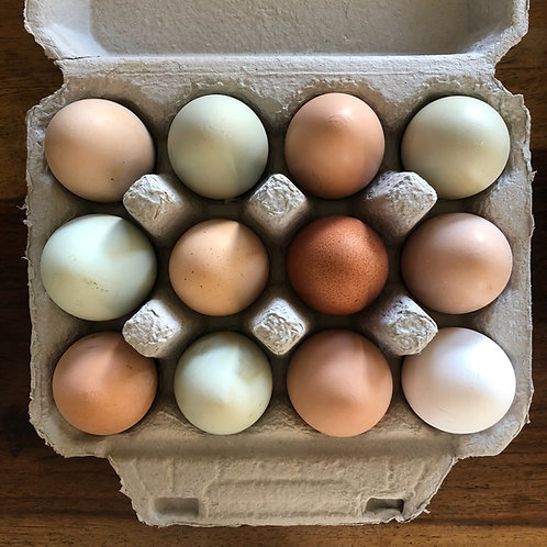 Organic Eggs - AS AVAILABLE