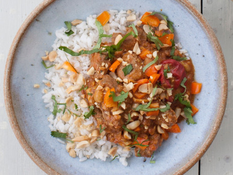 West African Peanut Curry