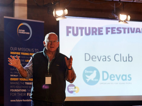 John Clark welcomes us to the Devas Club
