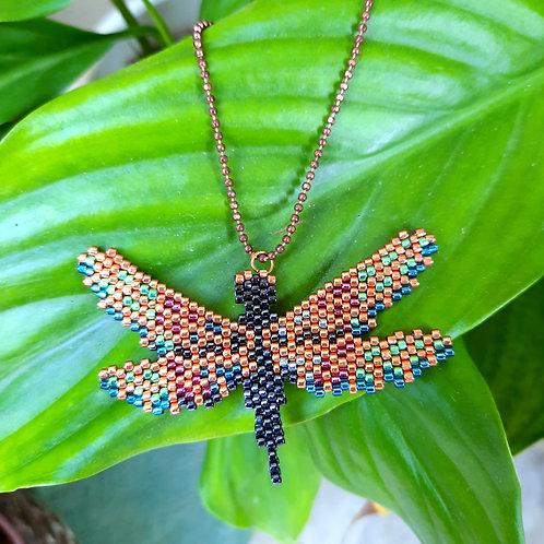 ,שרשרת שפירית, שרשרת צבעונית, תכשיט שפירית, תכשיט צבעוני, תכשיט משמח, תכשיט בהשראת הטבע
