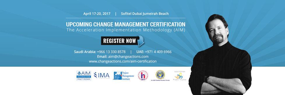 Change Management Accreditation
