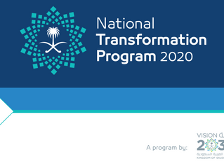 The Saudi National Transformation Program (NTP) 2020 Model