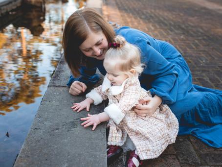 Baby E Turns One l  Family Photos l Baby Milestone Photos l  Norfolk, VA