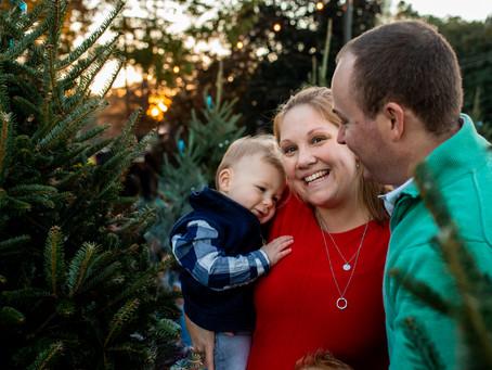 Tree Farm Family Photos  l  Chesapeake, VA