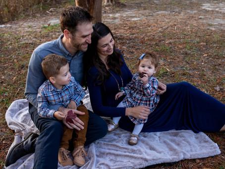 Family M Fall Family Photos l  Oak Grove Lake Park l  Chesapeake, VA