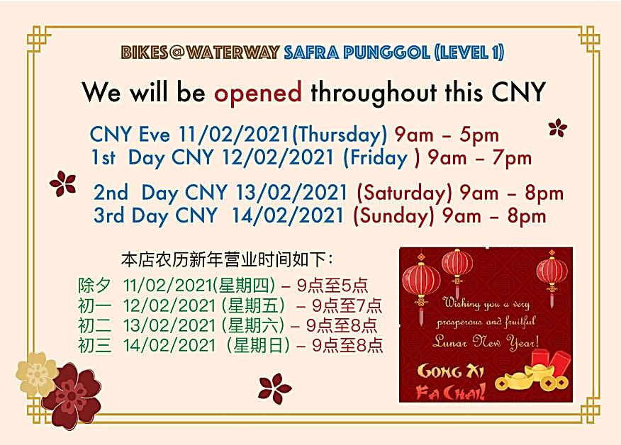 CNY2021 Bike Stop Operating Hours (SAFRA