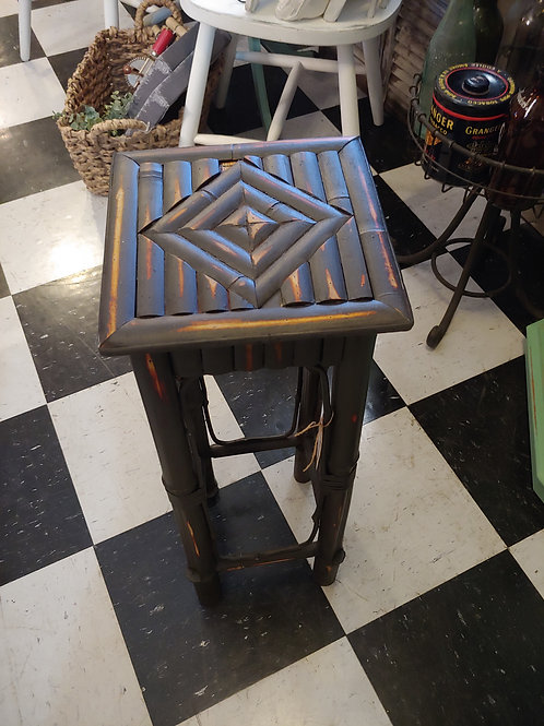 Black Bamboo Plant Stand
