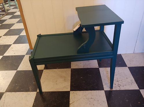 2 Tier Vintage End Table
