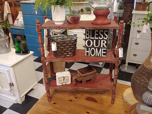 Vintage Chippy Shelf
