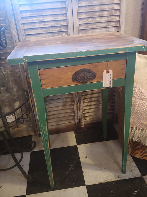 Antique Green Table