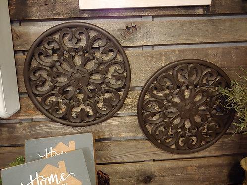 Wooden Round Wall Scrolls