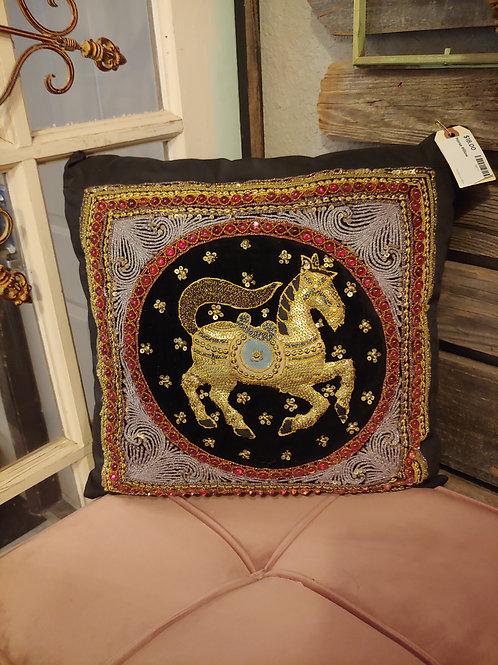 Ornate Horse Pillow