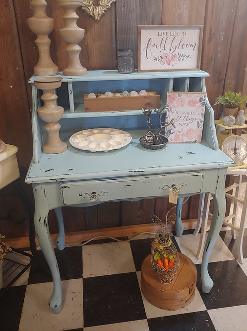 Shabby Blue Desk