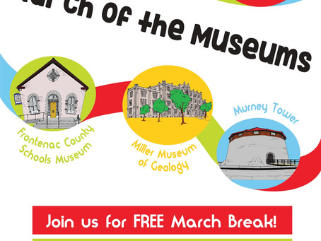 March of the Museums: March Break Activities at the C&E Museum