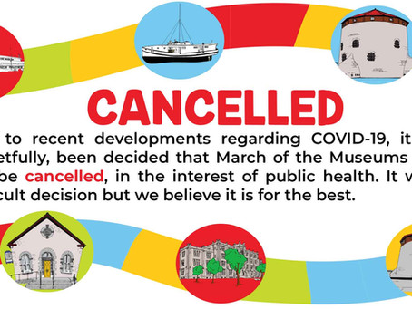 CANCELLED! March of the Museums