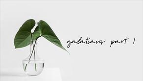 Galatians (Part 1: ch 1 vs1-5)