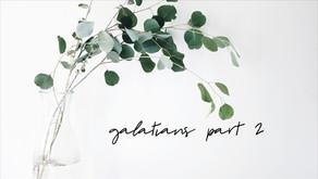Galatians (Part 2: ch 1 vs6-9)