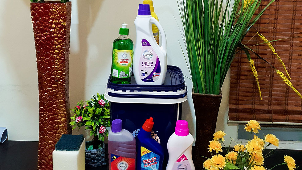 Wopper cleaning solutions combo - Monthly purchase