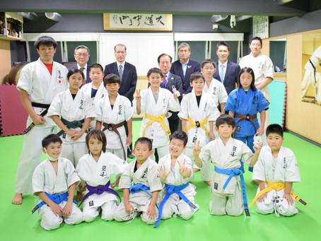 新宿西支部との合同練習&新宿区体育協会の方々の視察