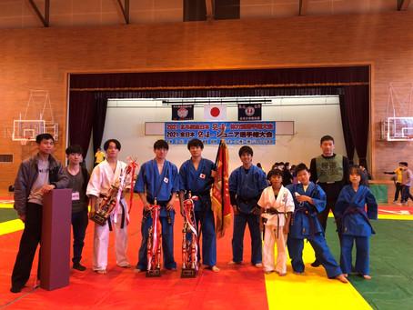 全日本大会結果!成績優秀道場第一位獲得!