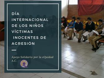 Día Internacional de los Ñinos Víctimas Inocentes de Agresión