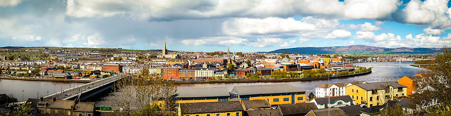 Derry City Daytime Panoramic