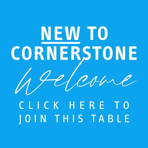 New to Cornerstone?