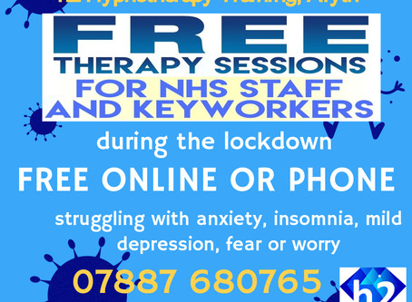 FREE Online support for NHS & Keyworkers!
