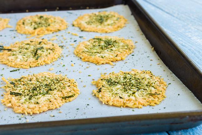 The Tastiest Parmesan Cheese Crisps Ever Recipe