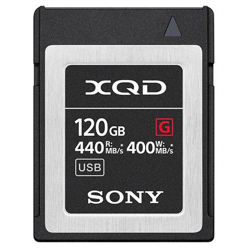 Tarjeta de memoria XQD de la serie G de 120 GB