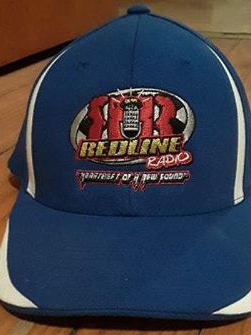 Blue/White Redline Radio Hat