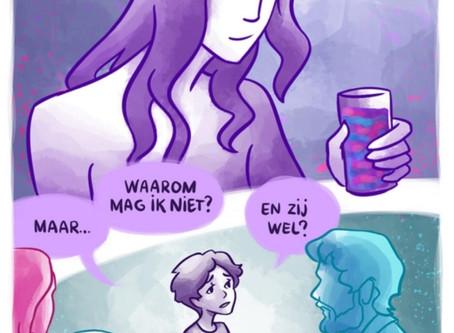 comic Non Binair Dutch language!