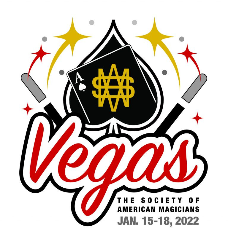 Logo of the Society of American Magicians 2022 Magic Convention in Las Vegas
