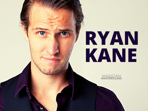 "Ryan Kane, Magician & Author, ""Out of Stock: A Magician's Guide to Writing Your Own Lines"""