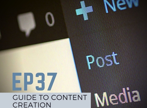 """#37 - Coronavirus Stay Home Part II: """"Guide to Content Creation"""""""