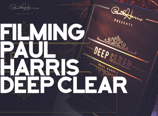 Filming Paul Harris Deep Clear