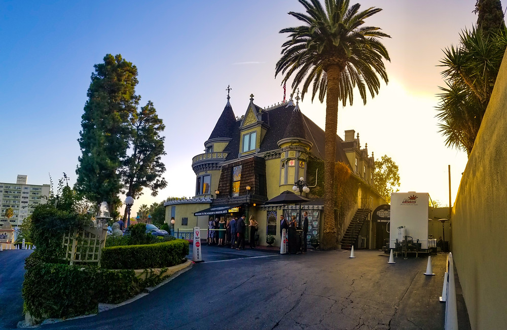 The an evening at the historic Magic Castle and a wonderful tour with Jason Andrew Davidson