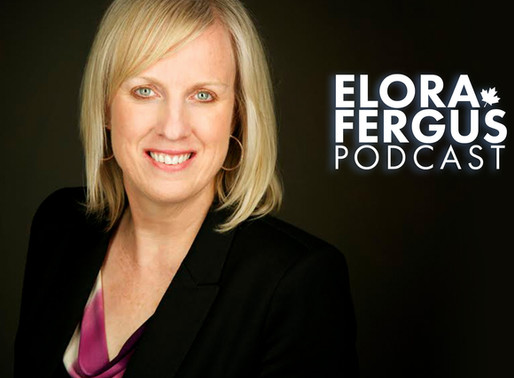 Groves Foundation Executive Director, Lori Arsenault talks with Elora Fergus Podcast