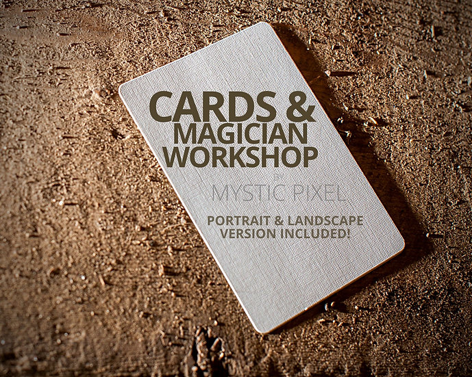 Blank Card Magician Images - Magician Stock Photography