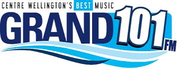 Logo of the Grand 101.1 FM in Fergus Ontario
