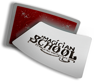 Magician School custom playing cards
