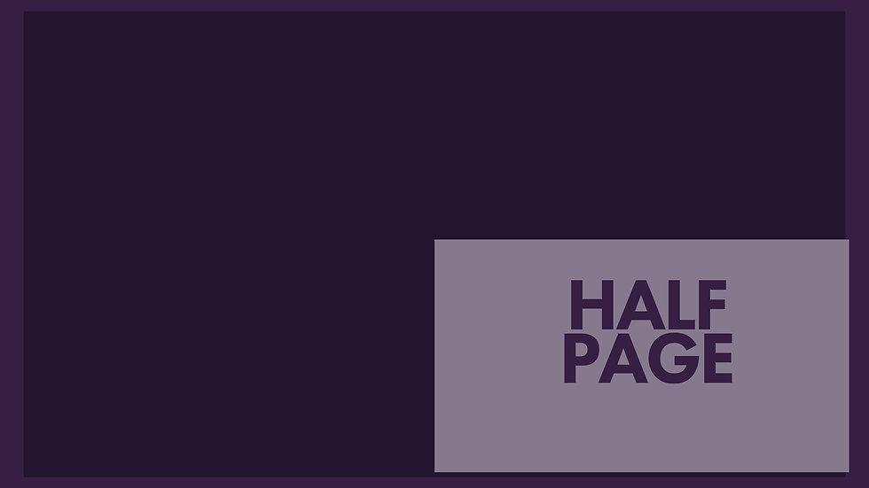 Half Page Ad in 2019 OWOW Souvenir Program