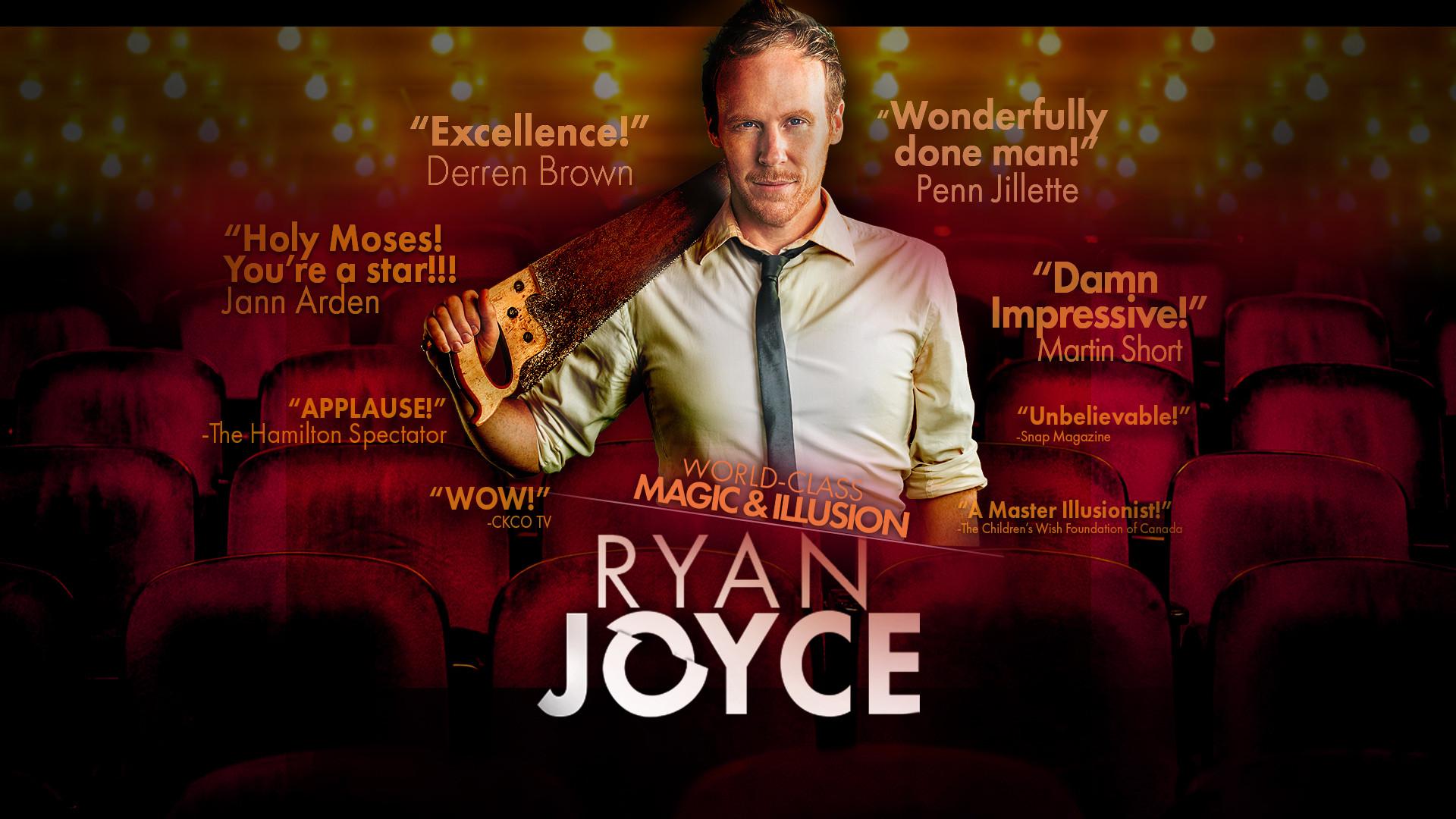 Ryan Joyce Ontario Magician | YouTube Magician & Videos