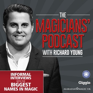Magician Richard Young and the Magicians Podcast Logo